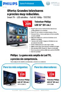 Televisor Philips LED 32